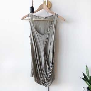 🆕 Burberry draping sleeveless top
