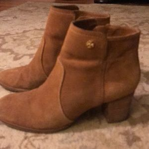 Tory burch sabe booties 9.5