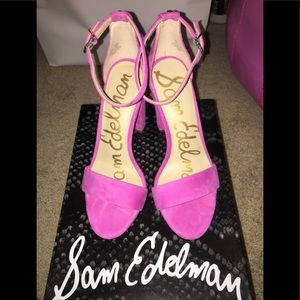 NWT Sam Edelman Yaro High Heel in Pink Suede👠💖