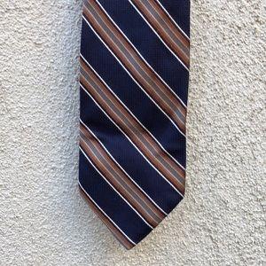 Silk vintage tie handmade in Italy by Altea