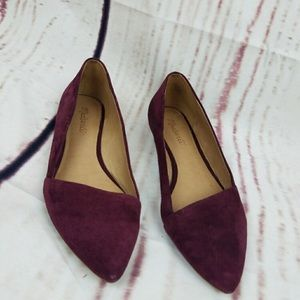 Madewell Suede Flats