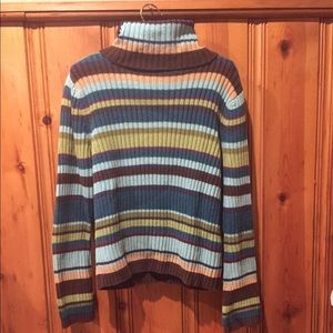 TURTLE NECK SWEATER old navy size L