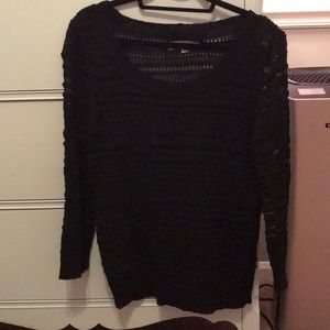 Loft Black Sweater