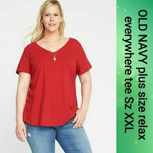 🆕 Old Navy plus size-relax everywhere tee XXL
