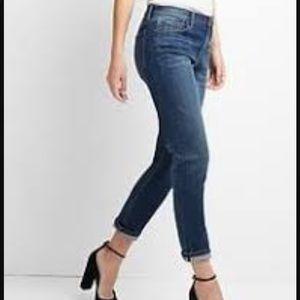 Gap Best Girlfriend Stretch Selvedge Jeans 25 R