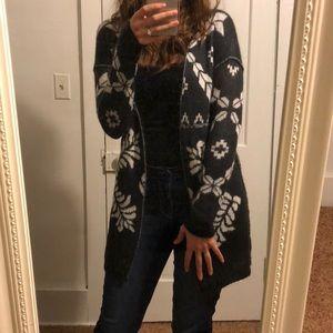 [Rue21] Aztec Printed Cardigan Sweater