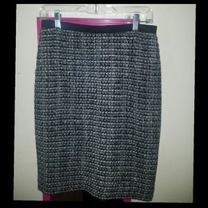 J Crew Tweed No. 2 Pencil Skirt