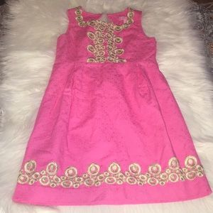 Lilly pulitzer girls formal dress