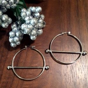 Jewelry - Carmella Bar Hoop Earrings