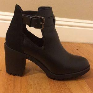 Zara Cutout Heels