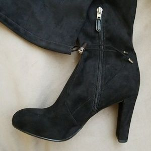 1f65410811f Sam Edelman Shoes - Sam Edelman Kent Suede Over The Knee Boots
