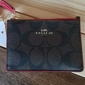 Coach card holder & coin purse