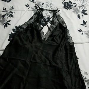 VICTORIAS SECRET LACE NIGHTGOWN