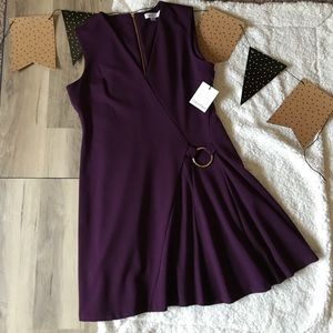 Calvin Klien fitted flare skirt dress