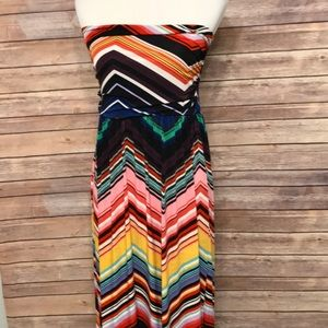 Multicolored Maxi dress. Size L