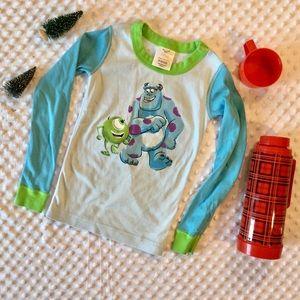 Hanna Andersson Monsters Inc. Disney Pajama Top