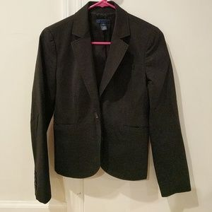 Wool suit blazer