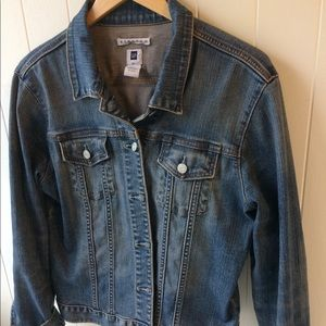 GAP perfect denim jean jacket XL