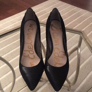 Sam Edelman black pumps 7.5