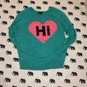 Hi, Bye Sweater