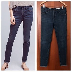 Anthropologie Pilcro high rise skinny jeans 29