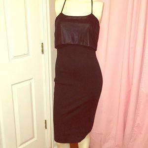 Black bcbg pencil dress