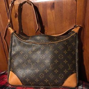 Authentic Louis Vuitton boulogne 30