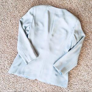 2405a34f2e Giorgio Armani Jackets   Coats - 🦋  size  10  Giorgio Armani Baby Blue