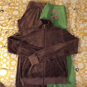 Vintage Juicy Couture Velour Jump Suit and Sweats