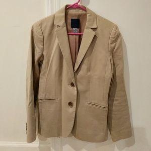 JCrew cotton blazer