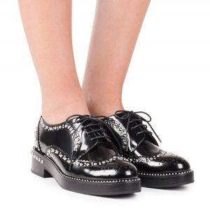 JEFFREY CAMPBELL Bartok Studded Oxford Shoe