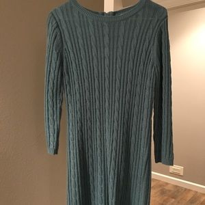 Forever 21 sweater dress.