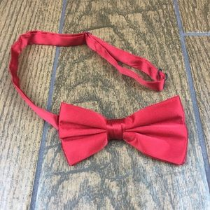 Other - Red Bowtie Clip On Bow Tie