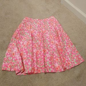 Lily Pulitzer cotton skirt