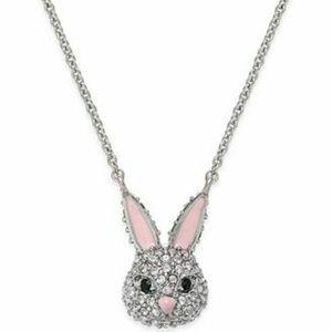 Kate Spade mini bunny necklace