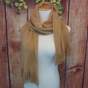ECHO Soft mocha scarf