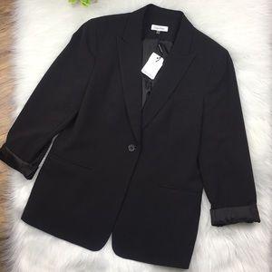 Size 14 Calvin Klein black blazer