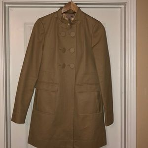 H&M Double-breasted coat in beige