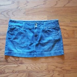American Eagle Live Your Life denim skirt