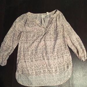 Silk Cynthia Rowley hi/low blouse