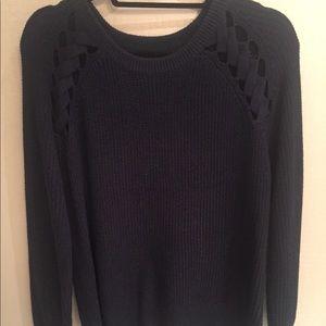 Heartloom Navy sweater size XS