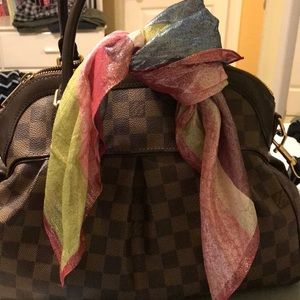 COACH scarf/handbag accessory