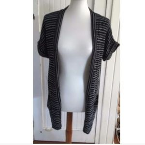 Silence + Noise Open Front Cardigan Duster