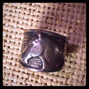 Silpada horse head ring