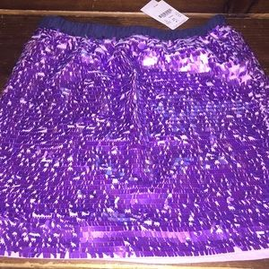 Crewcuts sequin mini skirt 10 new