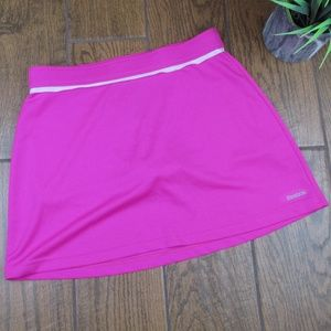 Small Reebok Tennis Skirt Pink Athletic Play Dry
