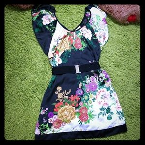 Arden B Kimono Mini Dress🌸🏵️🌹