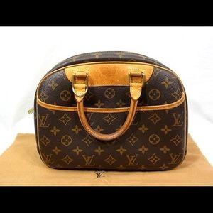 Authentic Louis Vuitton trouville monogram