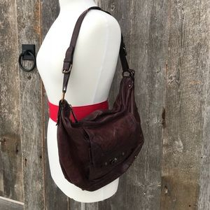 Frye Cameron Hobo bag in Cognac
