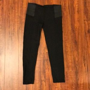 Black Riding Pants by Zara L